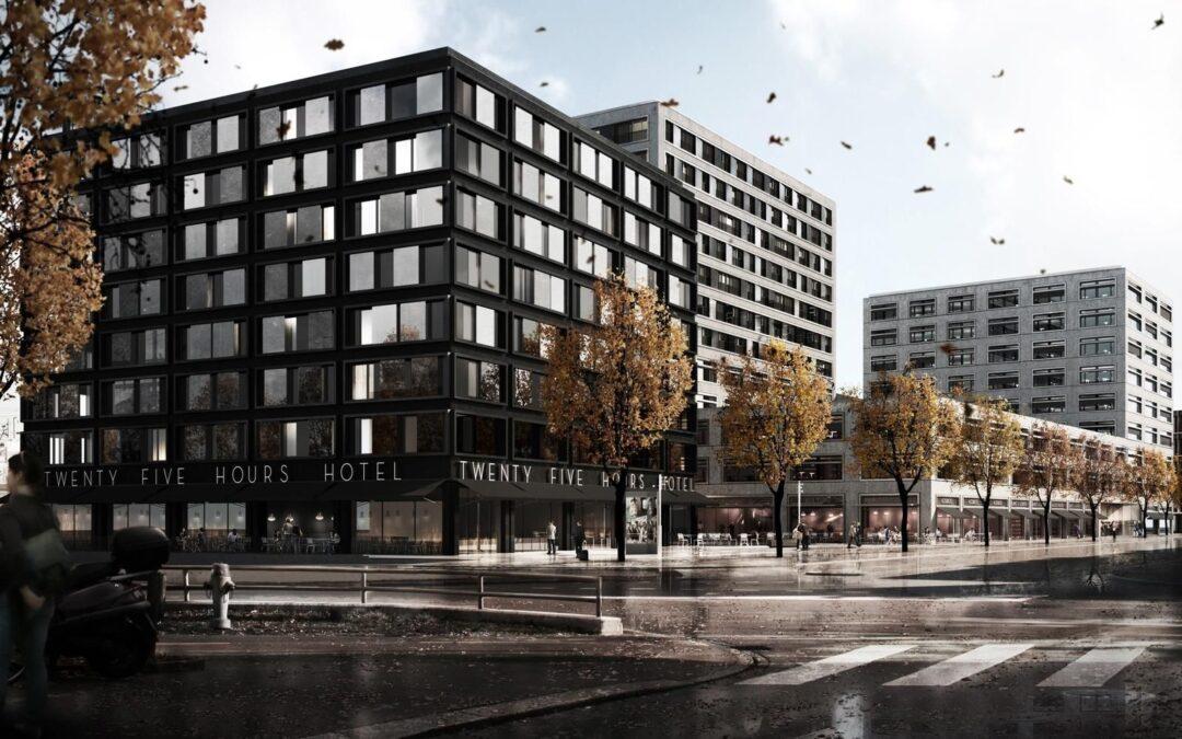 Betriebsführung mit MeteoViva Climate – 25hours hotel, Langstrasse 150, Zürich