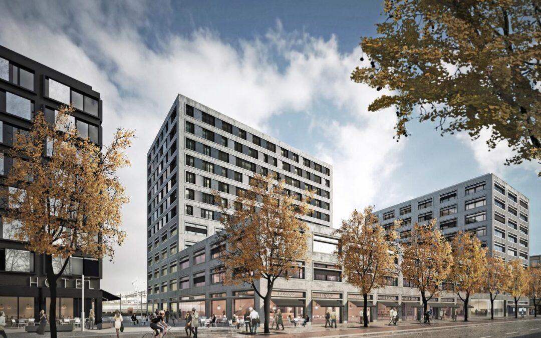 Betriebsführung mit MeteoViva Climate – Liegenschaft H2 SBB, Europaallee Zürich