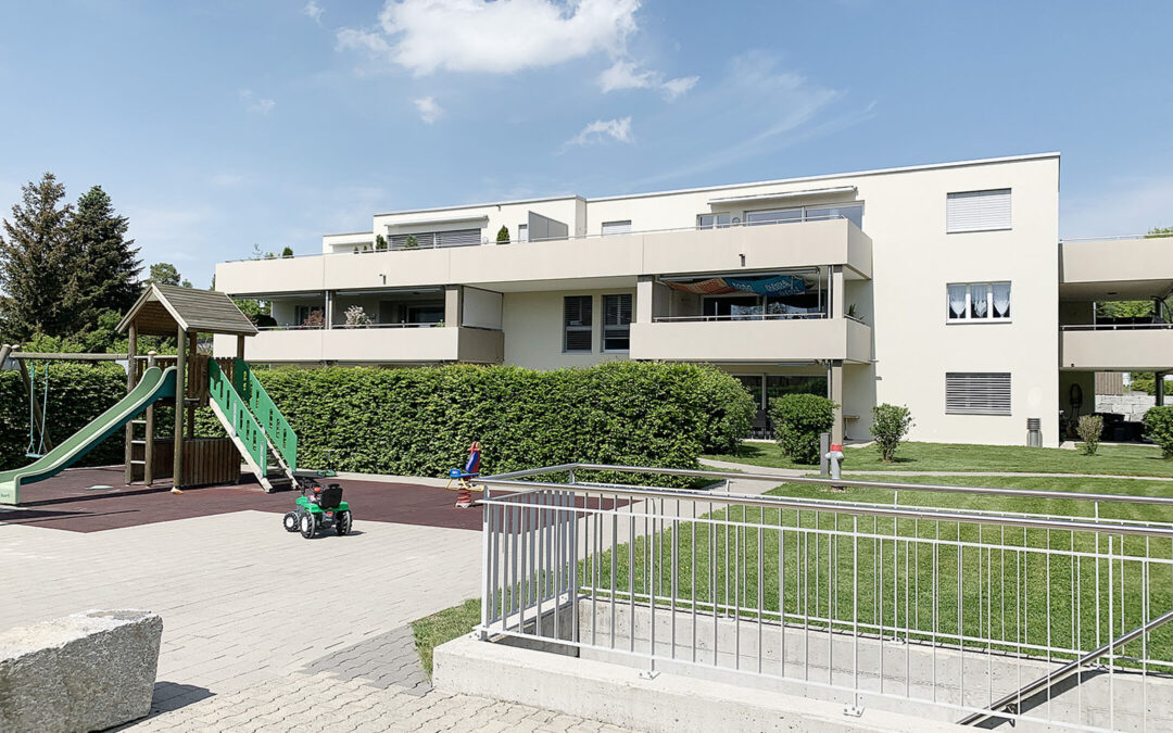 Zertifizierung «DGNB Gebäude im Betrieb» – Wohnüberbauung Erlen