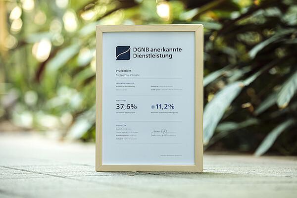 """MeteoViva Climate ist die erste DGNB anerkannte Dienstleistung für die Zertifizierung """"Gebäude im Betrieb"""""""