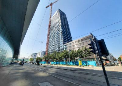 Qualitätssicherung Gebäude- und Automationstechnik – Claraturm, Basel